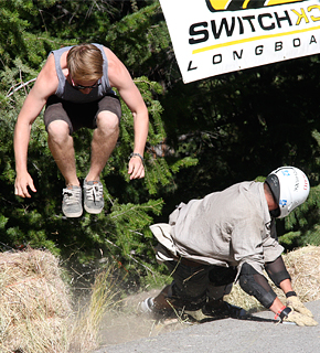Giant's Head Freeride - longboarding event in Summerland, BC 2013