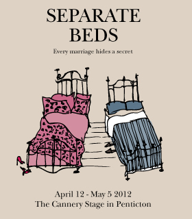 Penticton's Many Hats Theatre presents the play Separate Beds