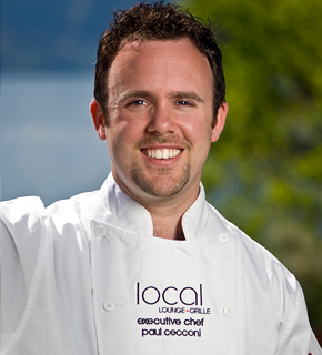 Chef Paul Cecconi – Local Lounge and Grill in Summerland, BC