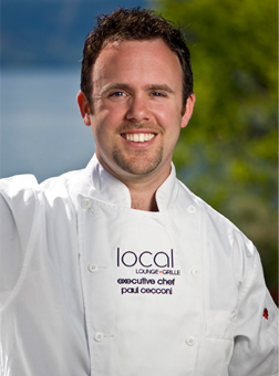 Chef Paul Cecconi from the Local Lounge and Grill