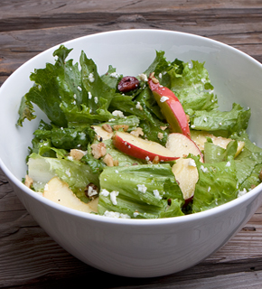 Salish Apple salad