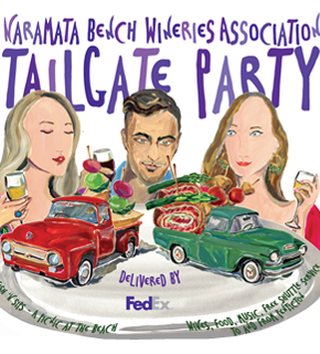 Naramata Bench Wineries Tailgate party