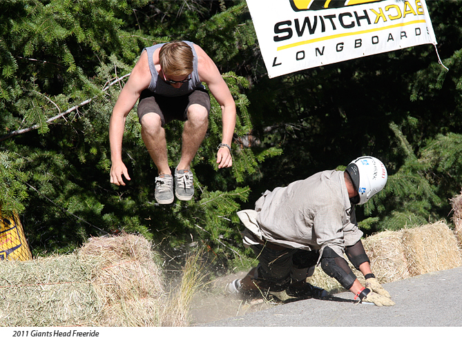 Giants Head freeride in Summerland BC - photo from previous year