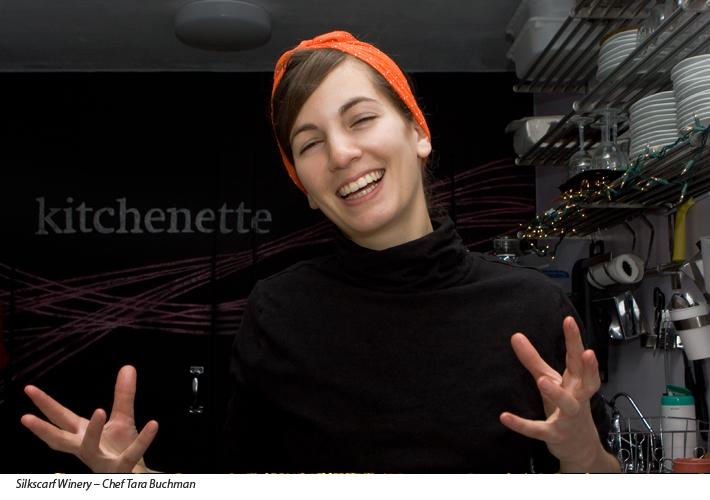 Chef Tara Buchman - Silkscarf Winery