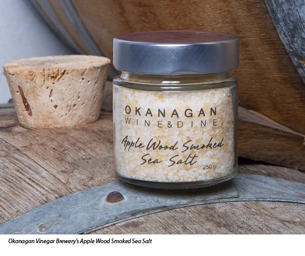 Okanagan Vinegar Brewery - Apple Wood Smoked Sea Salt