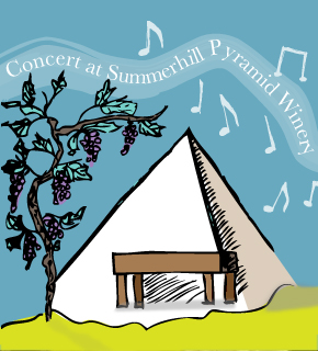 Summerhill Pyramid Winery - hosting a free concert on February 9, 2013
