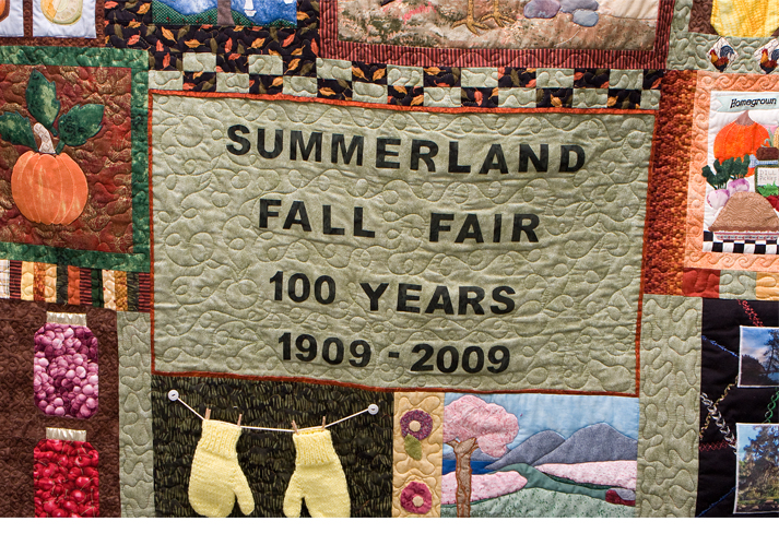 Summerland Fall Fair 103 years old 2012