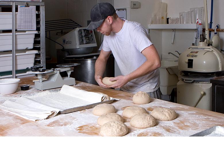 Baker at True Grain Bread in Summerland