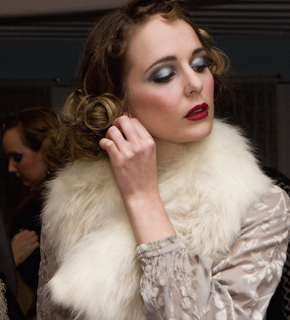 Vintage and Vogue fashion show from SS Sicamous in Penticton on December 1, 2012